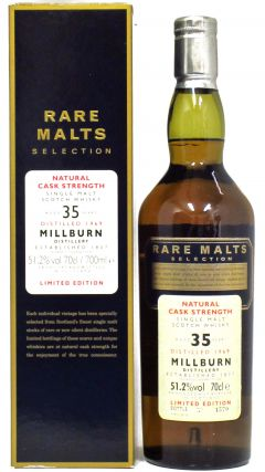 Millburn (silent) - Rare Malts - 1969 35 year old Whisky