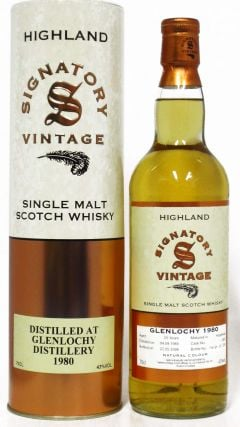 Glenlochy (silent) - Single Malt Scotch - 1980 25 year old Whisky