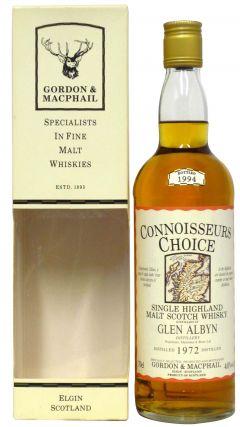 Glen Albyn (silent) - Connoisseurs Choice - 1972 22 year old Whisky