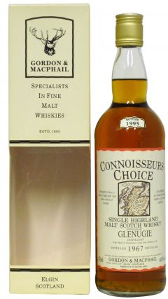 Glenugie (silent) - Connoisseurs Choice - 1967 28 year old Whisky