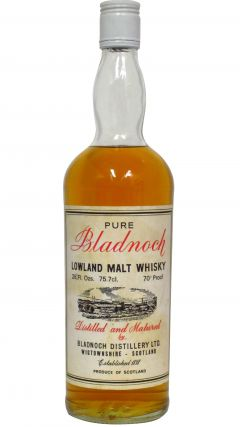 Bladnoch - Pure Lowland Malt (1970's bottling) Whisky