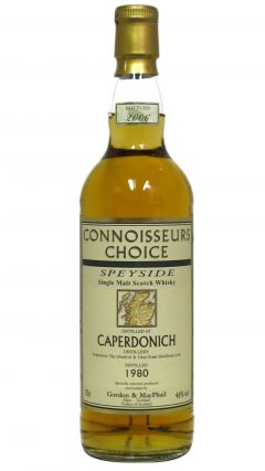 Caperdonich (silent) - Connoisseurs Choice - 1980 26 year old Whisky