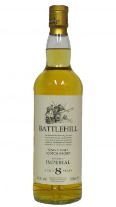 Imperial (silent) - Battlehill 8 year old Whisky
