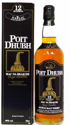 Poit Dhubh - Scotch Malt 12 year old Whisky