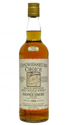 Mannochmore - Connoisseurs Choice - 1984 10 year old Whisky