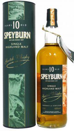 Speyburn - Single Highland Malt 10 year old Whisky