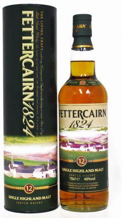 Fettercairn - 1824 Single Highland Malt 12 year old Whisky