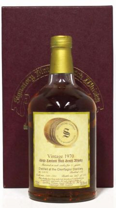 Glen Flagler (silent) - Signatory Vintage - 1970 23 year old Whisky