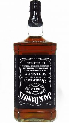 Jack Daniels - Old No. 7  - 1.5 Litre Bar Size Whiskey