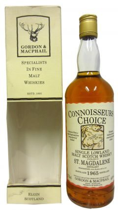 St. Magdalene (silent) - Connoisseurs Choice - 1965 30 year old Whisky