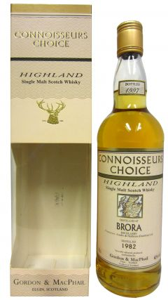 Brora (silent) - Connoisseurs Choice - 1982 15 year old Whisky