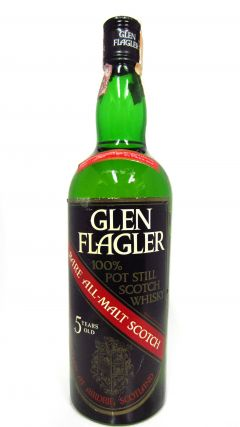 Glen Flagler (silent) - 100% Pot Still Scotch 5 year old Whisky