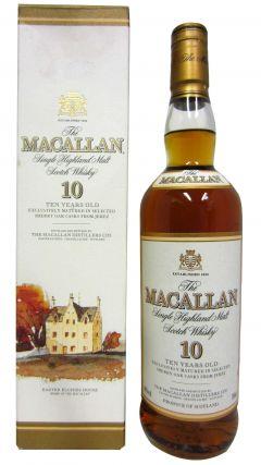 Macallan - Single Highland Malt (old bottling) 10 year old Whisky