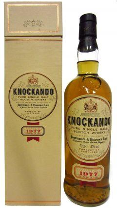 Knockando - Pure Single Malt Scotch - 1977 14 year old Whisky