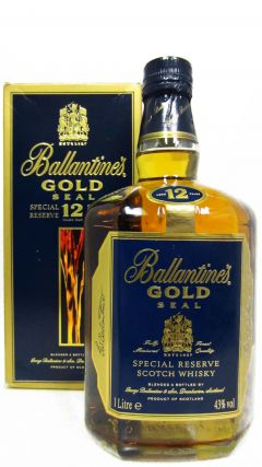 Ballantines - Gold Seal Special Reserve (1 Litre) 12 year old Whisky