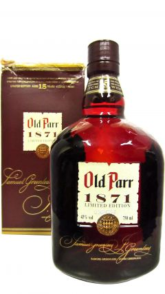 Old Parr - 1871 Limited Edition 15 year old Whisky