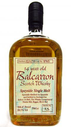 Dailuaine - Balcarron Scotch - 1979 14 year old Whisky
