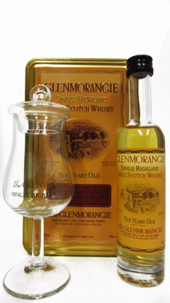 Glenmorangie - Tasting Pack with Glenmorangie Glass 10 year old Whisky