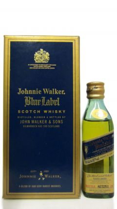 Johnnie Walker - Blue Label Miniature #1 Whisky