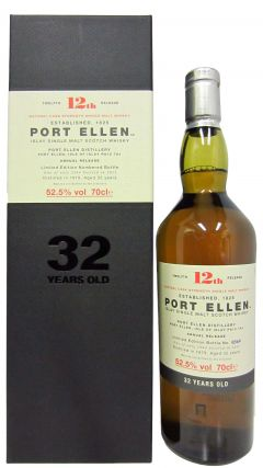 Port Ellen (silent) - 12th Release - 1979 32 year old Whisky