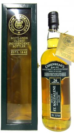 St. Magdalene (silent) - Cadenheads - 1982 26 year old Whisky