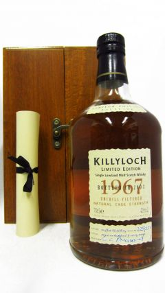 Killyloch (silent) - Limited Edition - 1967 36 year old Whisky