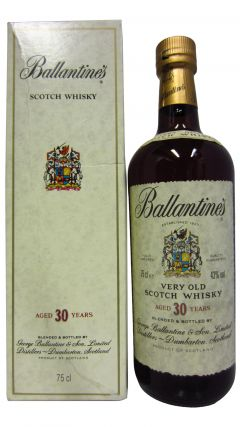Ballantines - Scotch 30 year old Whisky