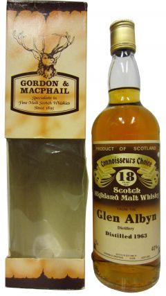 Glen Albyn (silent) - Connoisseurs Choice - 1963 18 year old Whisky