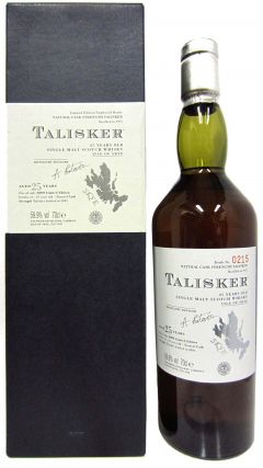 Talisker - Single Malt Scotch - 1975 25 year old Whisky