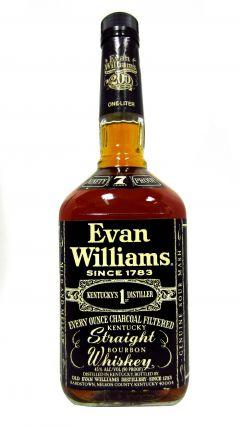 Evan Williams - Kentucky Straight Bourbon 7 year old Whiskey