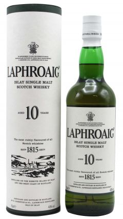 Laphroaig - Islay Single Malt 10 year old Whisky