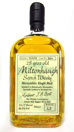 Balmenach - Miltonhaugh  - 1966 28 year old Whisky
