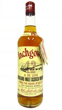 Inchgower - Deluxe Highland Malt Scotch 12 year old Whisky