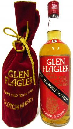 Glen Flagler (silent) - Rare All Malt Scotch 8 year old Whisky