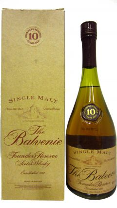 Balvenie - Founders Reserve (Cognac Bottle) 10 year old Whisky