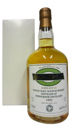 Springbank - DA MHILE Organic Single Malt - 1992 7 year old Whisky