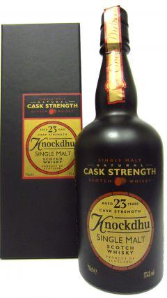 Knockdhu - Cask Strength 23 year old Whisky