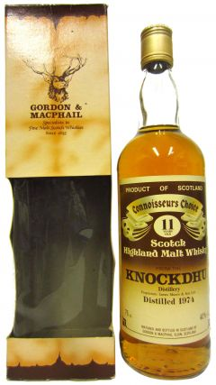 Knockdhu - Connoisseurs Choice - 1974 11 year old Whisky