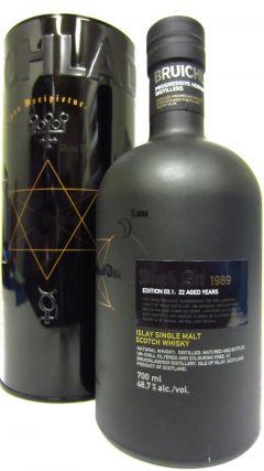 Bruichladdich - Black Art 3rd Edition - 1989 22 year old Whisky