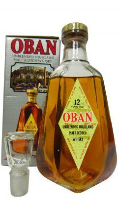 Oban - Unblended Highland Malt Scotch 12 year old Whisky