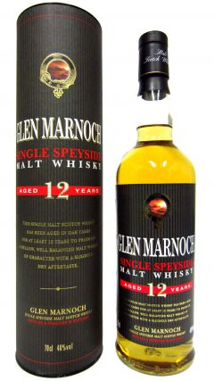 Secret Speyside - Glen Marnoch 12 year old Whisky