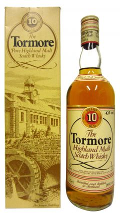 Tormore - Highland Malt Scotch 10 year old Whisky