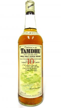 Tamdhu - Single Malt Scotch 10 year old Whisky