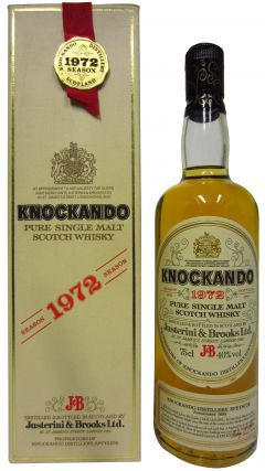 Knockando - Pure Single Malt Scotch - 1972 12 year old Whisky