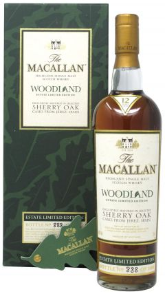 Macallan - Woodland Estate No. 888 of 1000 12 year old Whisky