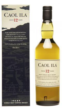Caol Ila - Islay Single Malt 12 year old Whisky