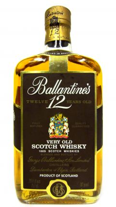 Ballantines - Very Old Scotch 12 year old Whisky