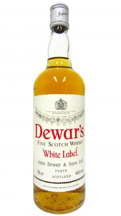 Dewar's - White Label Fine Scotch (old bottling) Whisky
