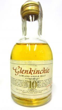Glenkinchie - Lowland Single Malt Miniature 10 year old Whisky