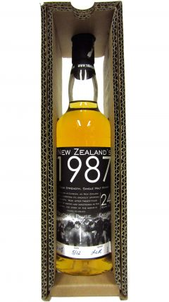 New Zealand - Touch Pause Engage - 1987 24 year old Whisky